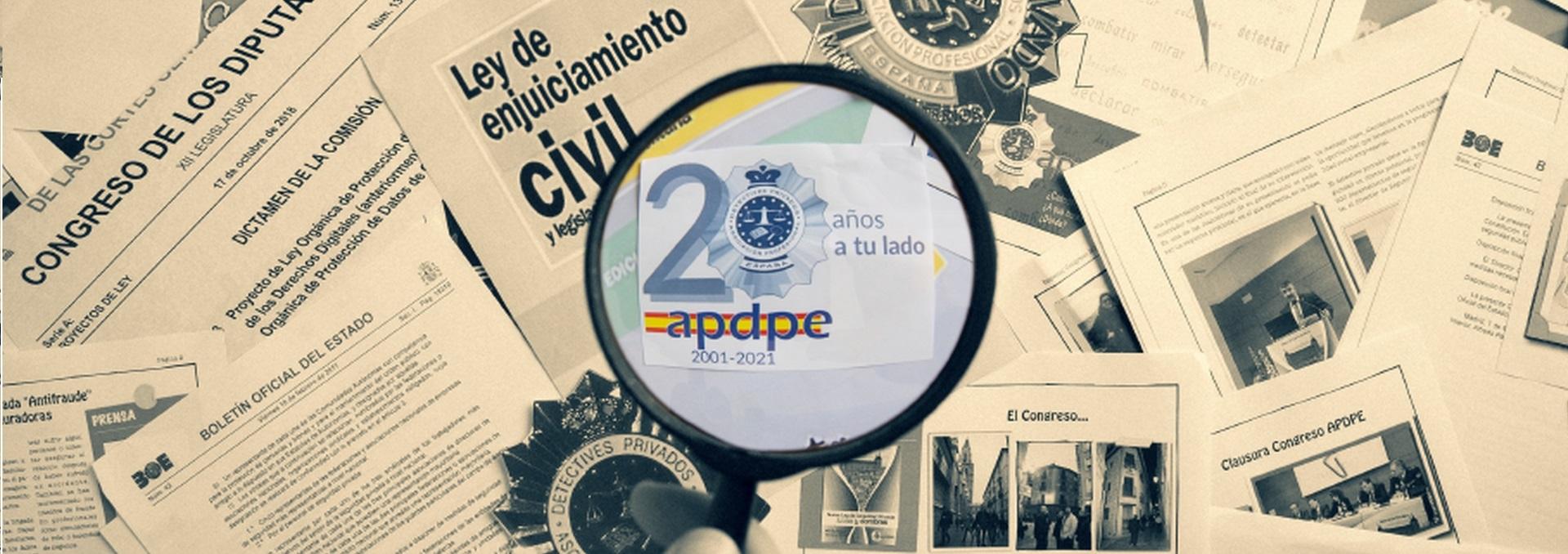 XV CONGRESO NACIONAL DETECTIVES APDPE 2021 -CANCELADO-